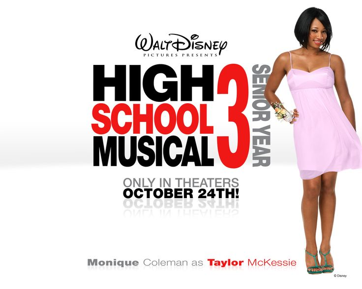 monique coleman monique coleman in high school musical 3 senior