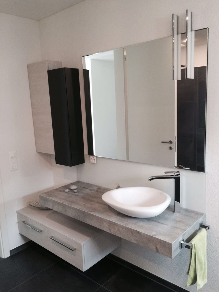 Sasso #washbasin by #MastellaDesign furnishes the #bathroom of a private #house in Canton Ticino, Switzerland. #home #homedecor #design #interiors #interiordesign #bathdesign #basin