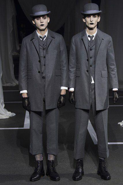 Thom Browne Fall 2016 Menswear Fashion Show
