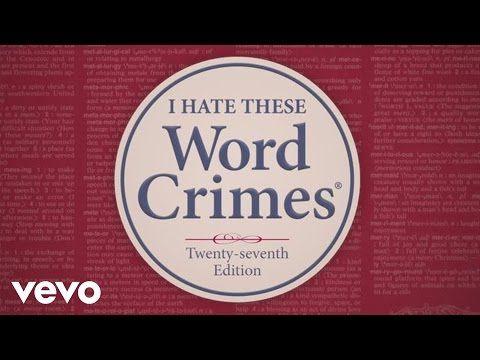 Word Crimes - Writers Write