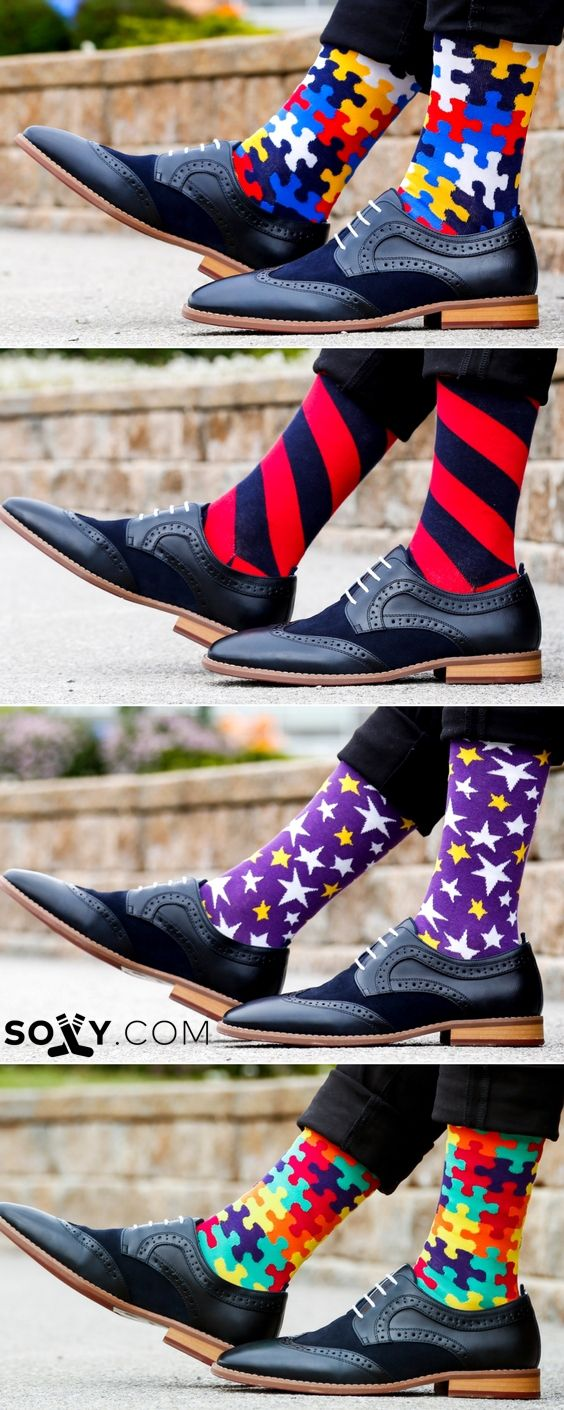 Take your SOCK GAME to the next level. Compliments Guaranteed.