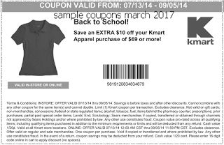 free Kmart coupons for march 2017