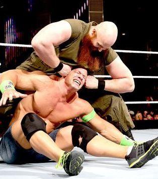 Raw 3/10/14: John Cena vs. Erick Rowan