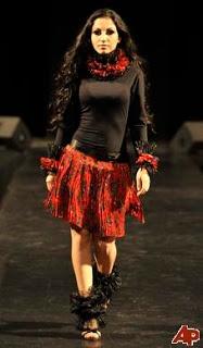 Hungary gypsy fashion show