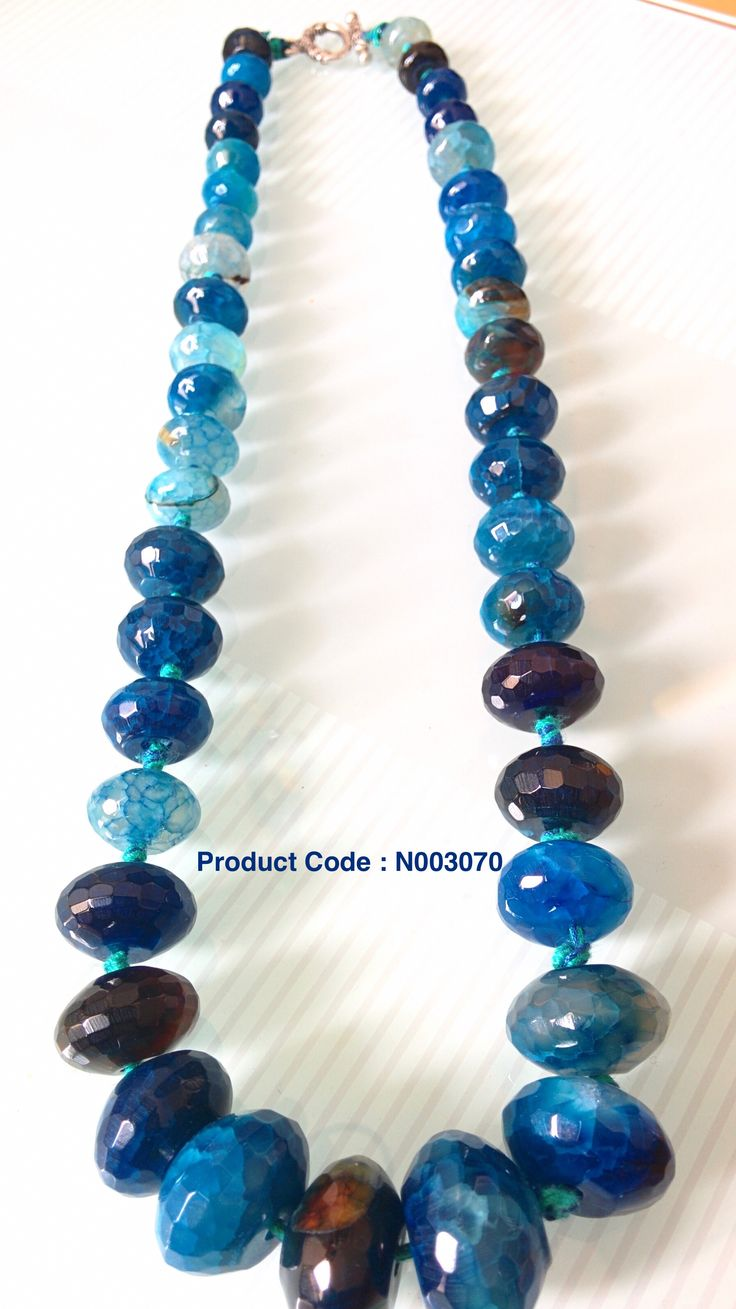 Heavy Stones used for this necklace