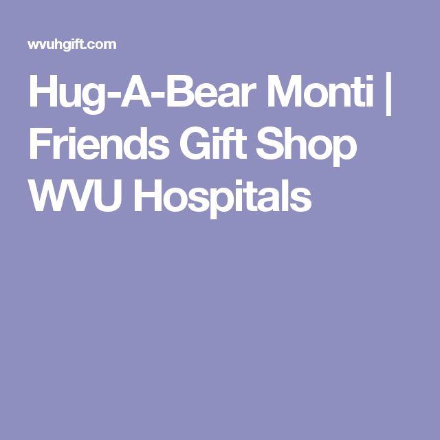 Hug-A-Bear Monti  | Friends Gift Shop WVU Hospitals