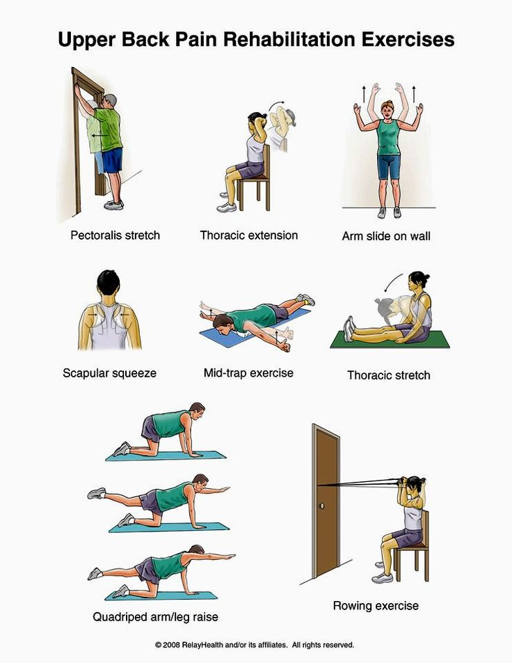 Upper back pain exersices.. I will have to remember this