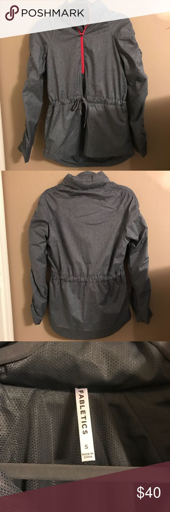 NWOT Fabletics Water Resistant Jacket NWOT Fabletics Water Resistant Jacket, size small. I love this jacket so much, unfortunately I took the tags off before trying it on and I wear a size medium. It has a hood that can be tucked in or left out and also reflective fabric (pictured with flash). The regular price on this jacket is $89.95 and for VIP members it's $59.95. I will accept offers on this! Fabletics Jackets & Coats
