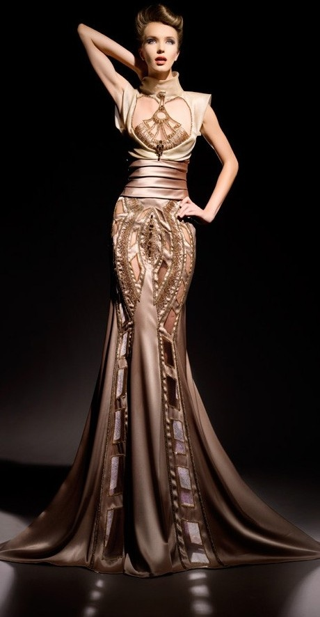 Blanka matragi haute couture 2012 keep the glamour for Donna karan wedding dresses