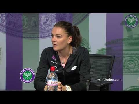 SeeMyInside.com RADWANSKA AGNIESZKA from POLAND WTA #3 Wimbledon 2016 Fi...