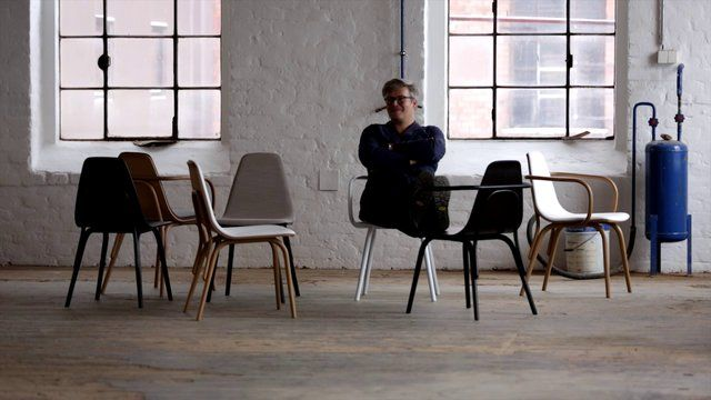 Thomas Feichtner and his Tram chairs for TON