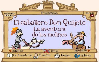 Don Quijote para niños.