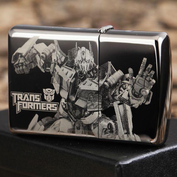 Black ice Transformers Dark of the Moon Zippo Lighter