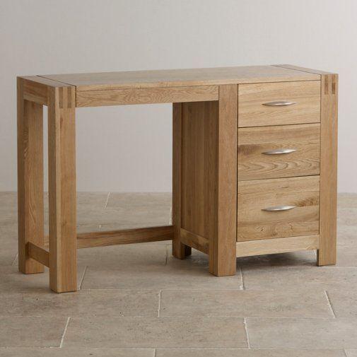 Alto Natural Solid Oak Dressing Table