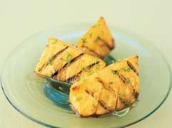 My new summer addiction.  I add the rum to the marinade, but have made it without- not sure if it makes a difference at all but this recipe is AWESOME!    Grilled pineapple - MayoClinic.com: Pineapple Recipe, Lime Juice, Food Healthy, Healthy Recipes, Heart Healthy, Dark Honey, Grilled Pineapple, Healthy Living