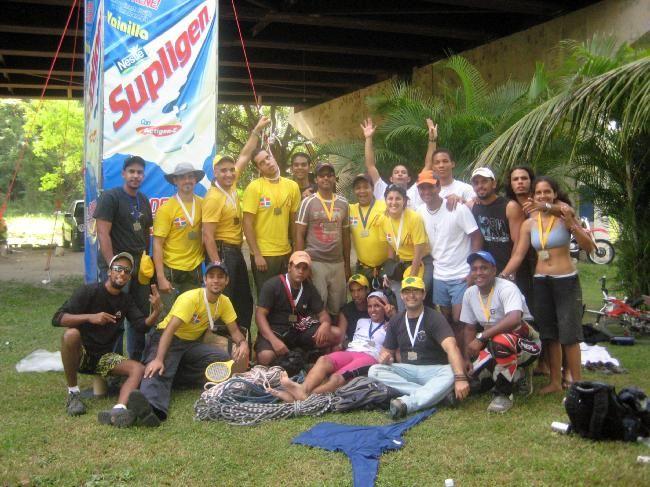 Crew de Eventos Verticales @ Master de la Jungla, Marina Río Isabela 2007.-