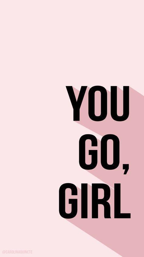 Du gehst Mädchen! #quote #inspirationquote