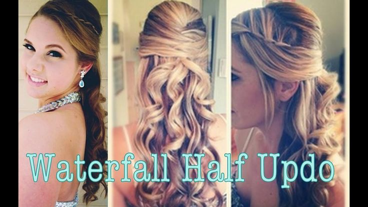 Perfect Prom Half Updo – YouTube