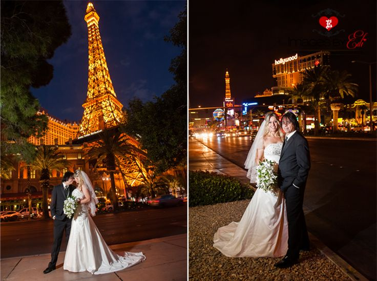 By The Eiffel Tower In Las Vegas Paris Weddingwedding