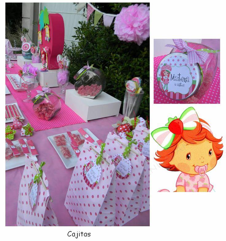 Kit Imprimible Candy Bar Frutillita Golosinas Personalizadas ...