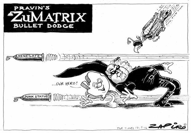 Pravin's Zumatrix bullet dodge