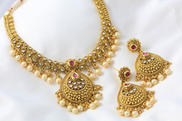 Royal Kundan Polki Necklace