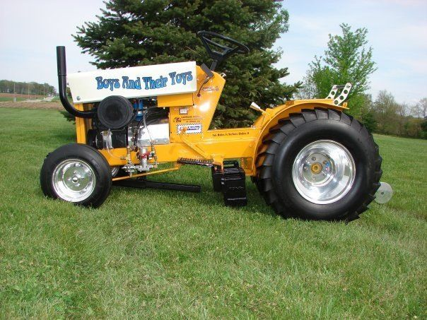 Lawn Tractor Towing : Cub cadet pulling pictures to pin on pinterest tattooskid
