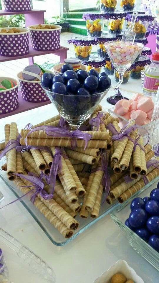 Mesa de dulces MORADO