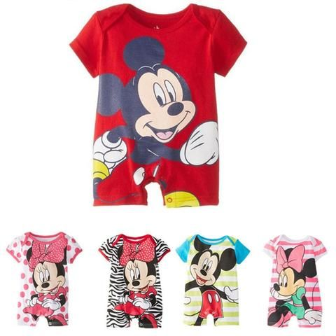 d4ef14d83371 2018 Summer Baby Girls Cute Rompers Newborn Baby for 0-24M Clothing ...