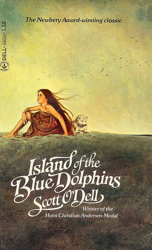 Island of the Blue Dolphins by Scott O'Dell - This book was one of my very very favourites growing up. I don't know how many times my backyard was the Island and I was Karana.