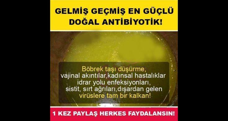 Doğal antibiyotik kadınsal hastalıklara şifa