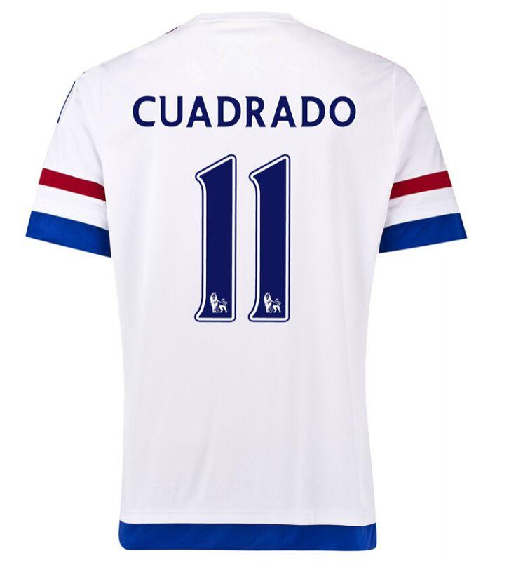 Maillot de foot Chelsea Exterieur 2015/2016 (11 Cuadrado)