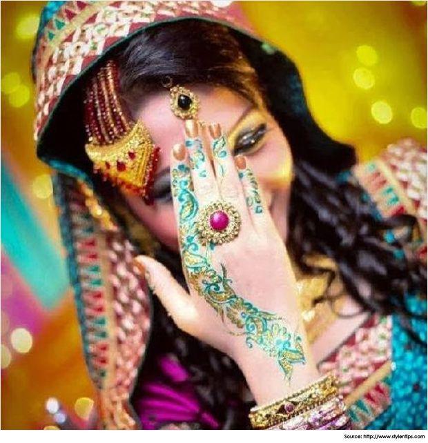 Pakistani mehndi designs Salaam-e-Ishq