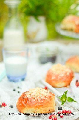 Kulinarne  pyszności  Molki: Pyszne jagodzianki