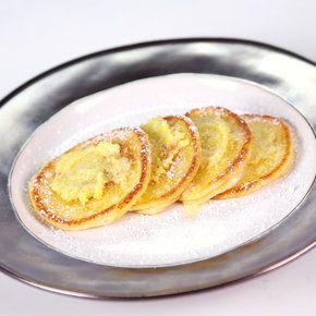 Carla Hall's Silver Dollar Ricotta Pancakes with Lemon Oil  http://abc.go.com/shows/the-chew/recipes/Silver-Dollar-Ricotta-Pancakes-Carla-Hall?cid=pinterest_chw