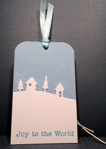 Teacher Thank You Christmas Tag