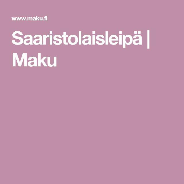 Saaristolaisleipä   Maku