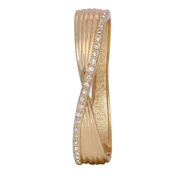 Maayra Trendy Gold Designer Adjustable #Bracelet #onlineshopping #sale #discount http://goo.gl/PqQ90e