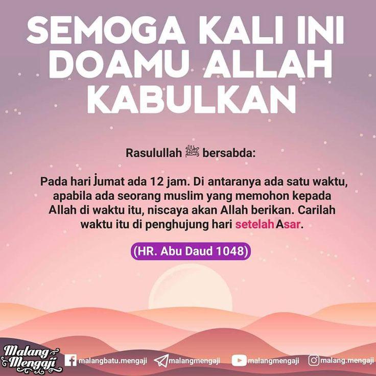 Follow @NasihatSahabatCom http://nasihatsahabat.com #nasihatsahabat #mutiarasunnah #motivasiIslami #petuahulama #hadist #hadits #nasihatulama #fatwaulama #akhlak #akhlaq #sunnah #aqidah #akidah #salafiyah #Muslimah #adabIslami #DakwahSalaf #ManhajSalaf #Alhaq #Kajiansalaf #dakwahsunnah #Islam #ahlussunnah #tauhid #dakwahtauhid #Alquran #kajiansunnah #salafy #adabJumat #hariJumat #setelahAshar #waktumustajabberdoa #adabberdoa #doadikabulkan #waktuberdoa #sesudah Asar