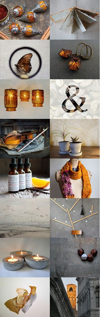 Something to warm you by Alison Machin on Etsy--abstract art print amber hanging light shades amber pendant bead ampersand rustic art print butterfly wall art chaoscurators concrete planter concrete taillight holders country fiddle photography foggy landscape photography geometric beads necklace golden topaz earrings handmade blank journal knit loop infinity scarf orange spice home fragrance venice photography