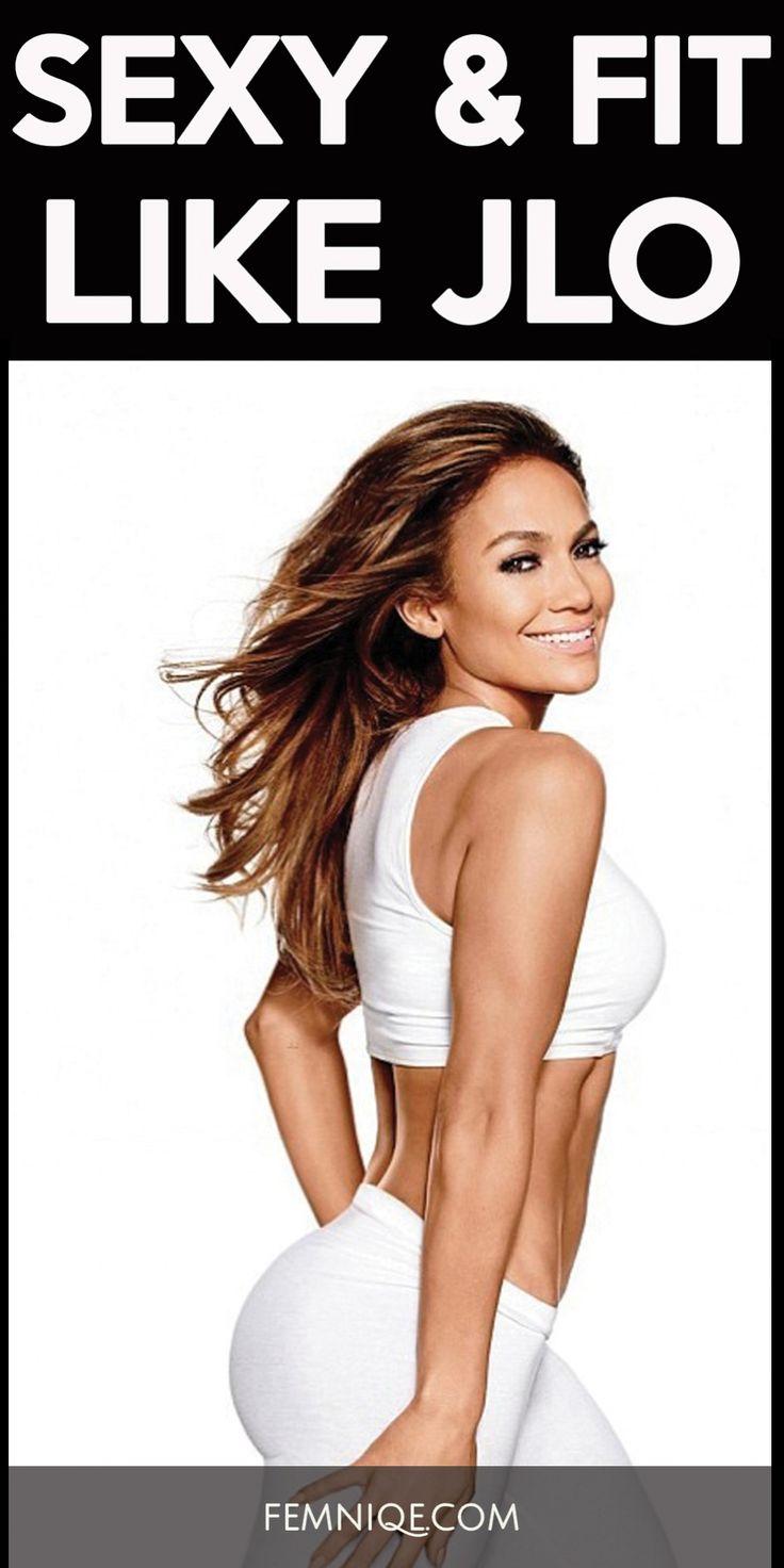 Jennifer Lopez Butt Exercises 119