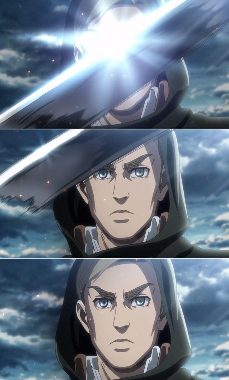 Erwin Attack on Titan | Erwin attack on titan, Anime, Anime art