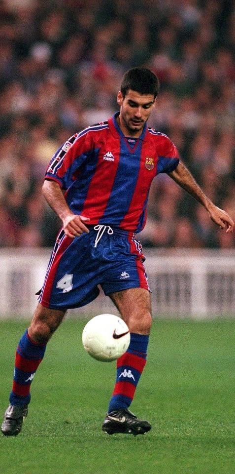 Josep Guardiola [1990-2001]