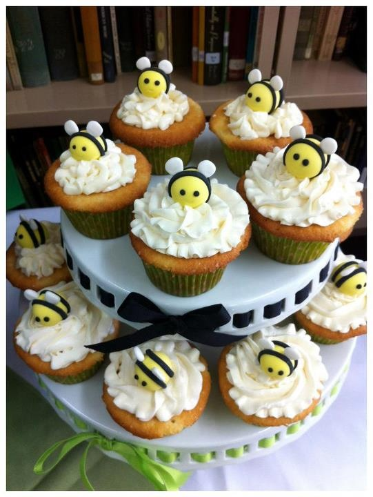 Adorable Cupcakes By Cake Therapy