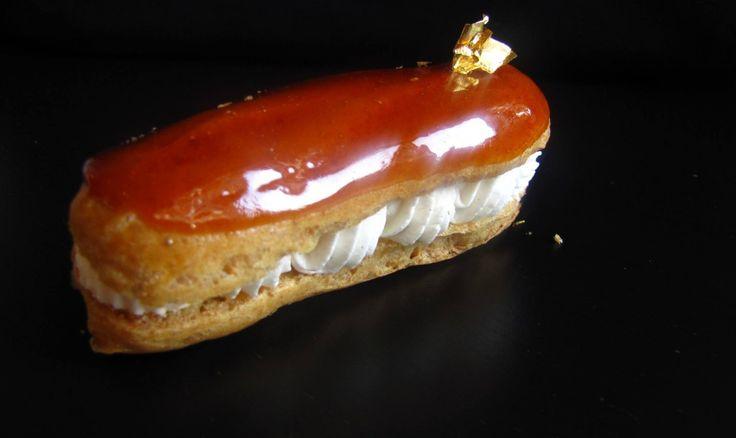 Recette de pâte à choux pour le CAP, avec glaçage caramel très simple mais très bon :-)