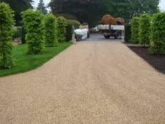pea shingle driveway