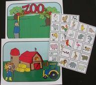 Le zoo :Où va-t-il?. Jeu de tri et de classement