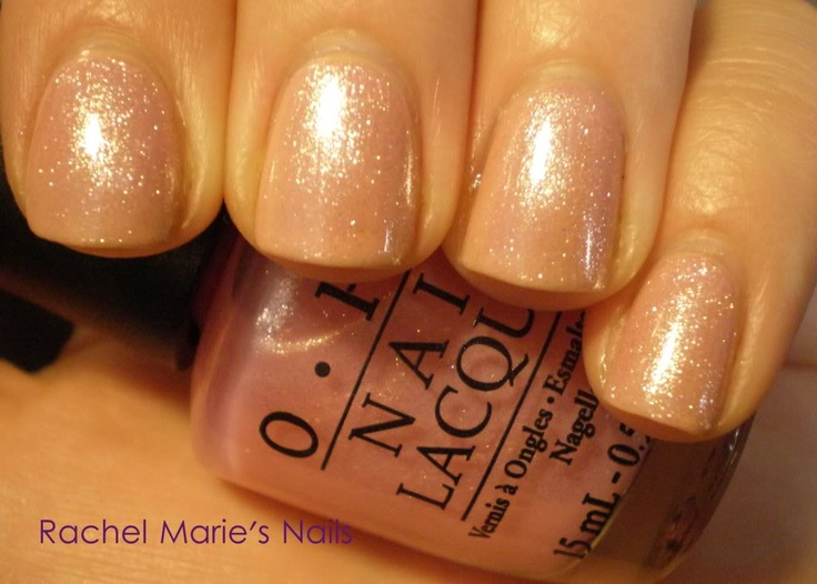 Hmmm . . . OPI Samoan Sand under OPI Princesses Rule! Might have to try that to dress it up a bit sometimes.