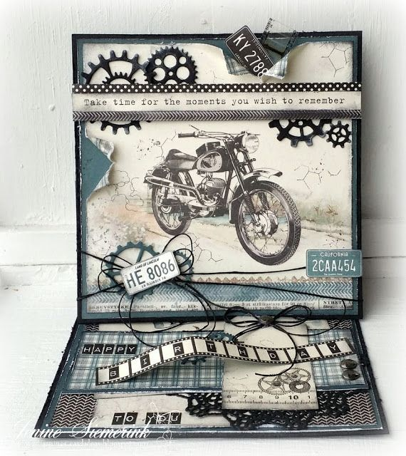 Jenine's Card Ideas: Sizzix DT - Take time for the moments