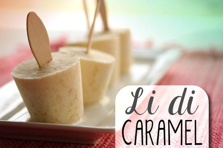 We maken onze 'li' in allerlei smaken, maar deze versie met caramel is toch wel een héle lekkere! We koken een pudding die smaakt naar ko'i lechi en laten deze bevriezen in de kla…
